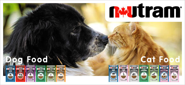 Sole Suppliers of Nutram Cat and Dog Food