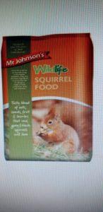 Mr Johnsons Squirrel Food