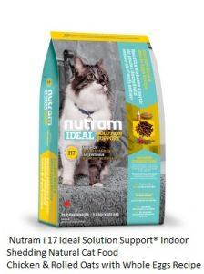 I17 Nutram Ideal Solution Support® Indoor Shedding Natural Cat Food