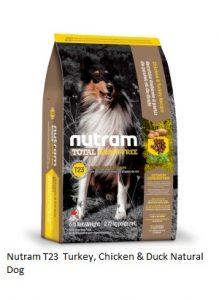 Nutram T23 Turkey, Chicken & Duck Natural Dog